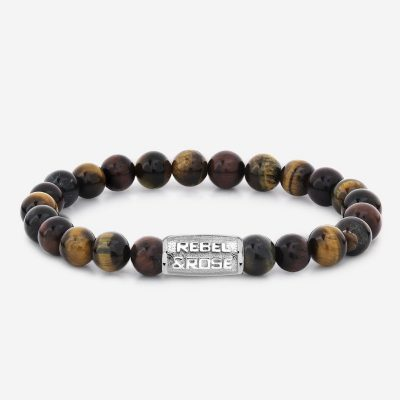 Bracelet Homme Stones Only – Who's Afraid of the Tiger II – 8mm
