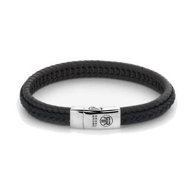 Absolutely Leather – Dual Twisted Black-Earth